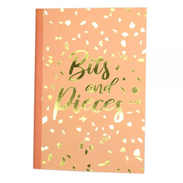 Bits and Pieces A5 Notebook Front