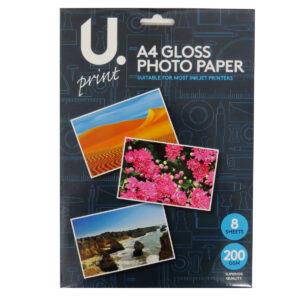 A4 Gloss Photo Paper