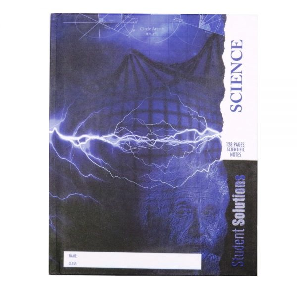 Scientific Notebook Einstein Front New