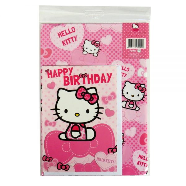 Hello Kitty Birthday Gift Wrap Pack