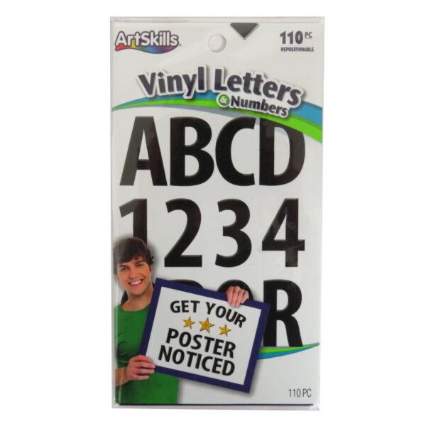 ArtSkills Vinyl Letters and Numbers - 110 Pack