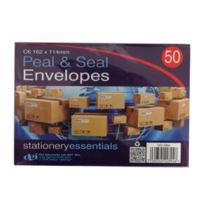C6 Peel and Seal Envelopes