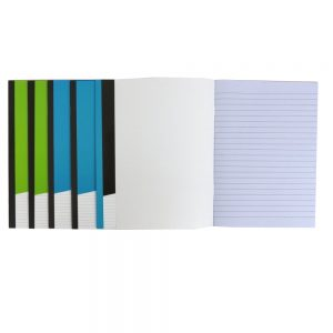 A5 Exercise Writing Notebooks, Pack of 6, Each 40 Pages