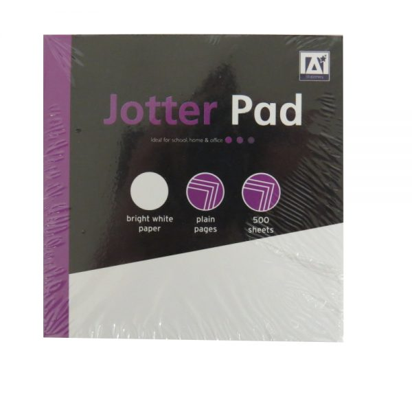 Jotter Memo Desk Paper Block Notepad, 500 Sheets