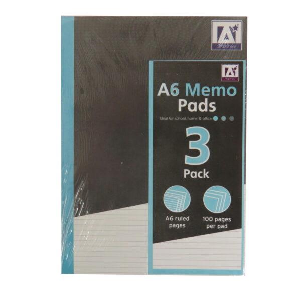 A6 Memo Notepads