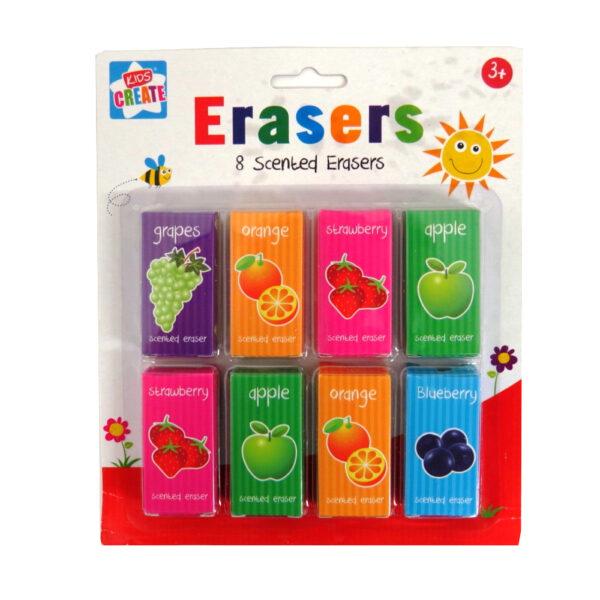 Scented Eraser Pack Fruit