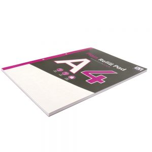 A4 Refill Notepad, Plain Paper, 120 Pages