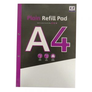 A4 Refill Notepad Plain Paper