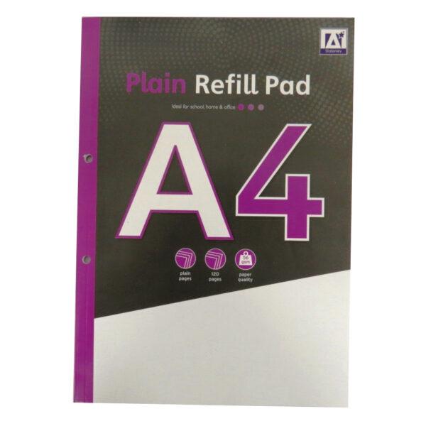 A4 Refill Notepad Plain Paper