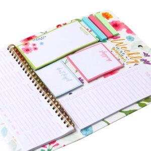 Floral Pastel Hanging Weekly Planner