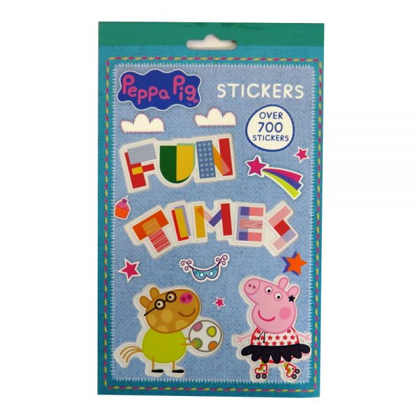 Peppa Pig Colourful Sticker Book