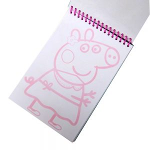 Peppa Pig A5 Scribble Book with Sticker Sheet
