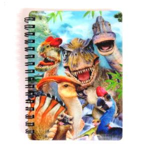 A6 Notebook - Dinosaur Selfie
