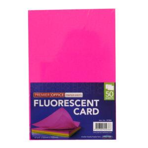 Fluorescent Card 4 x 6