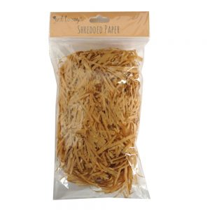 Shredded Tissue Paper Brown