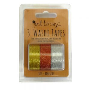 Washi Tape Glittered Gold Copper SIlver