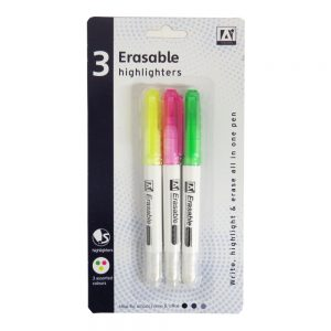 Erasable Highlighter Pens