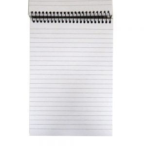 A5 Reporters Paper Writing Wire Notebook
