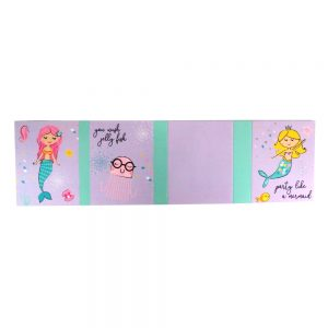 Mermaid Dream Big Girls Sticky Note Gift Folder