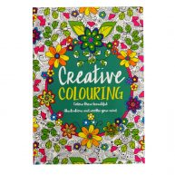 Mind Relaxation Adult Colouring Book Creative
