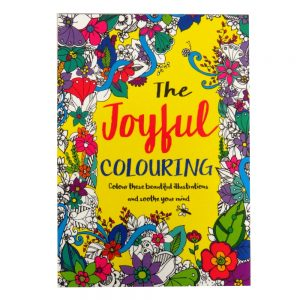 Mind Relaxation Adult Colouring Book Joyful