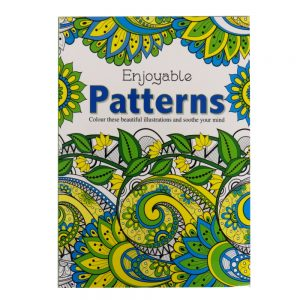 Relaxing Adult Colouring Book Patterns