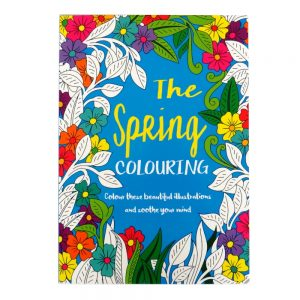 Mind Relaxation Adult Colouring Book Spring
