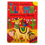 My Lovely Llama Colouring Book