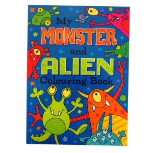Monster Alien Colouring Book