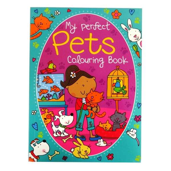 My Perfect Pets Colouring Book