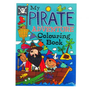 Pirate Adventure Colouring Book