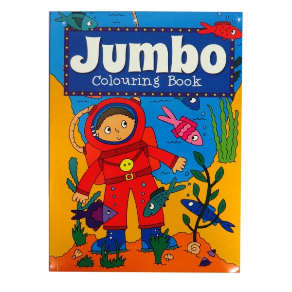 P2153 Jumbo Colouring Book 2