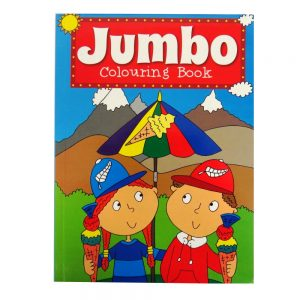 P2173 Jumbo Colouring Book 1