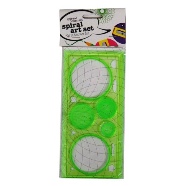 Spiral Drawing Art Set Green