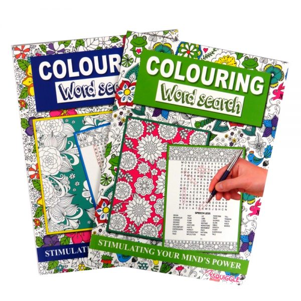 Colouring Wordsearch Books