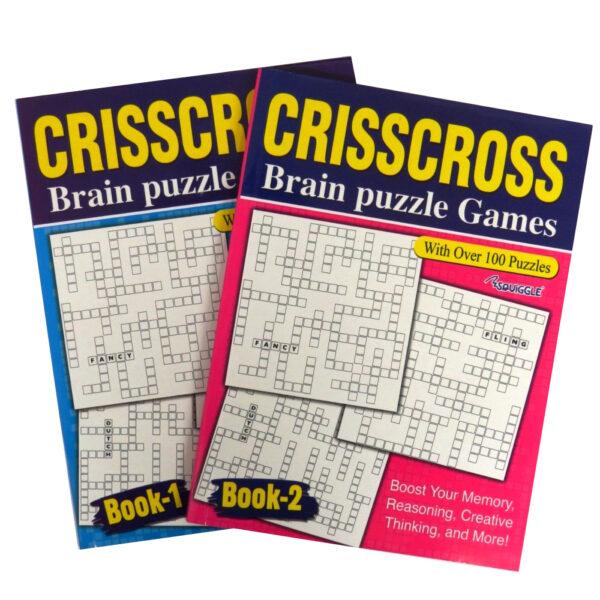 Crisscross Puzzle Books