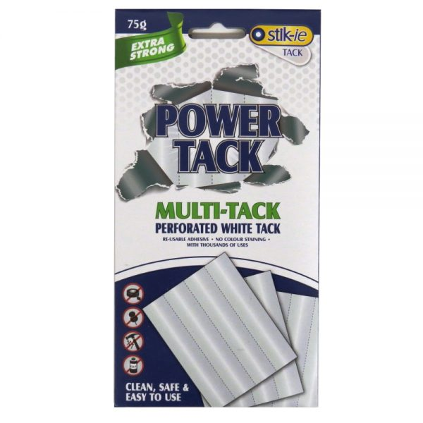 Perforated White Tack