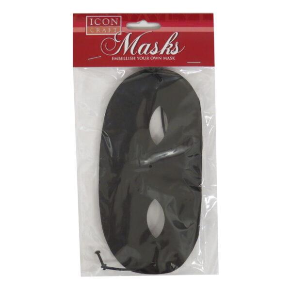 Icon Craft Embellish Your Own Black Mask