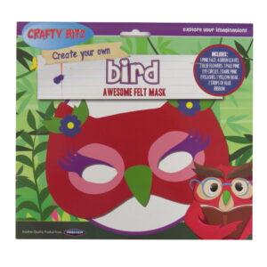 Make Your Own Bird Felt Mask