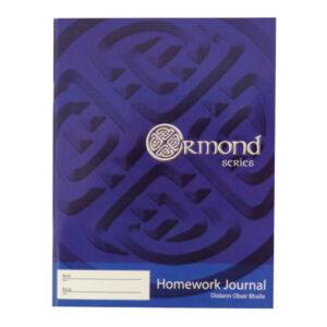Ormond 88 Page Homework Journal Timetable