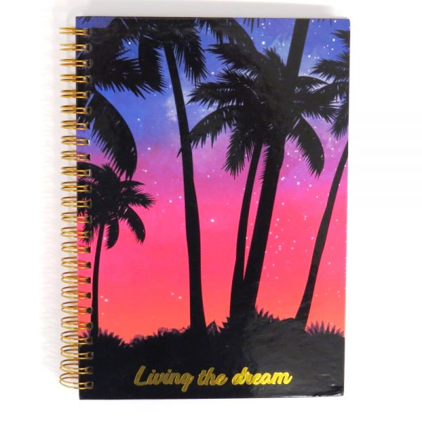 I Love Stationery A5 Wire Notebook Living The Dream