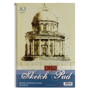 Icon Craft A3 Wire Sketch Pad Cartridge Paper