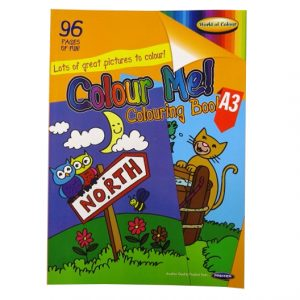 A3 Giant Colouring Book