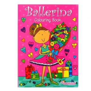 Ballerina Colouring Book