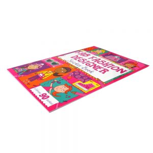 Fab Fashion Designer Sticker and Activity Book