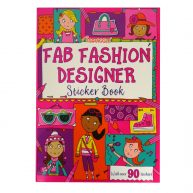 Fab Fashion Designer Sticker and Activity Book