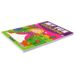 My Fun A5 Colouring Pad - Girls