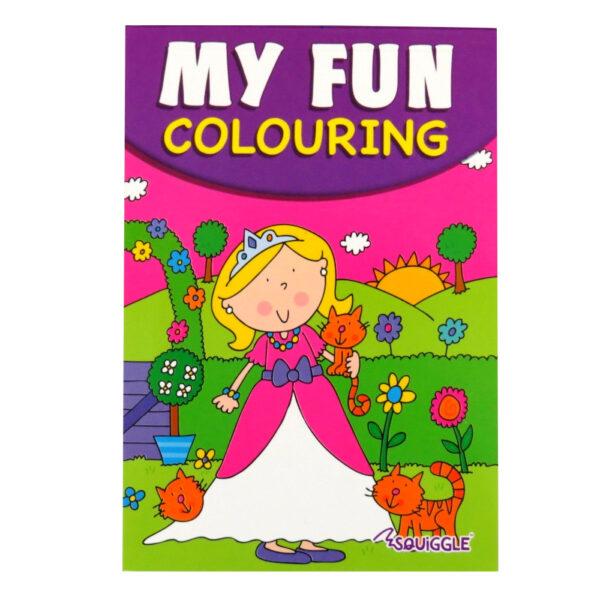 My Fun Colouring Pad Girls