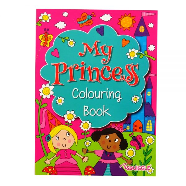 Colouring Activity Book Princess