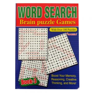 Wordsearch Jumbo Puzzle Book - Books 3 and 4